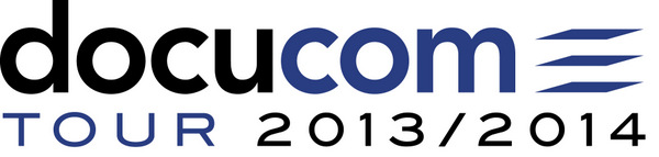 Logo DOCUCOM Tour 2013 2014
